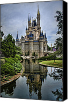 Moat Canvas Prints - Happily Ever After Canvas Print by Heather Applegate