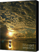 Ocean Digital Art Canvas Prints - Happily Ever After Canvas Print by Jeff Breiman