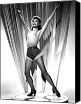 Publicity Shot Canvas Prints - Happy Go Lovely, Vera-ellen, 1951 Canvas Print by Everett