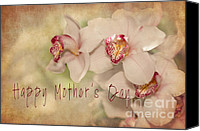 Photomanipulation Canvas Prints - Happy Mothers Day Canvas Print by Reflective Moments  Photography and Digital Art Images