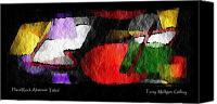 All Canvas Prints - Hard Rock Abstract Titled Canvas Print by Terry Mulligan