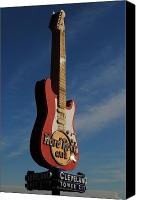 Amp Canvas Prints - Hard Rock Cafe Cleveland Canvas Print by Robert Harmon