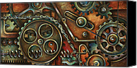 Industrial Canvas Prints - Harmony Canvas Print by Michael Lang