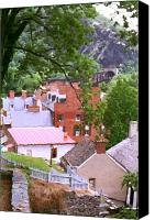 Harpers Ferry Canvas Prints - Harpers Ferry Overlook Canvas Print by Larry Darnell