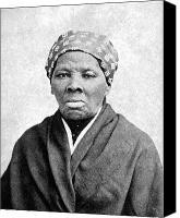 Bandana Canvas Prints - Harriet Tubman (1823-1913) Canvas Print by Granger