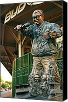 Sports Prints Canvas Prints - Harry Caray Canvas Print by Anthony Citro