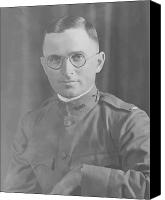 Buck Canvas Prints - Harry Truman During World War One Canvas Print by War Is Hell Store