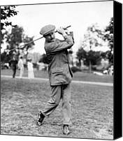 Golfing Canvas Prints - Harry Vardon - Golfer Canvas Print by International  Images