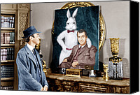 1950 Movies Photo Canvas Prints - Harvey, James Stewart, 1950 Canvas Print by Everett