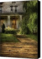 Haunted House Canvas Prints - Haunted - Haunted II Canvas Print by Mike Savad