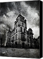 Creepy Canvas Prints - Haunted 2 Canvas Print by Laura Melis