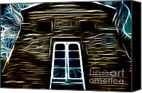 Haunted House Canvas Prints - Haunted House Canvas Print by Cheryl Young