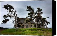 Haunted House Canvas Prints - Haunted House Canvas Print by Matt Dobson
