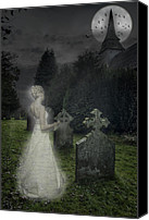 Ghostly Canvas Prints - Haunting Canvas Print by Christopher Elwell and Amanda Haselock