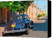 Havana Daydreams Canvas Prints - Havana Daydream Canvas Print by Dominic Piperata