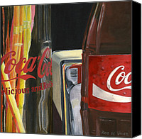 Photorealism Canvas Prints - Have a Coke... Canvas Print by Rob De Vries