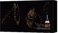 4th July Canvas Prints - Have a Fifth on the Fourth Canvas Print by Susan Candelario