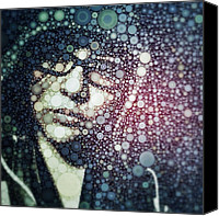 Featured Canvas Prints - Having Some #fun With #percolator :3 Canvas Print by Maura Aranda