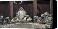Last Supper Canvas Prints - He Appeared to the Eleven Canvas Print by Tissot