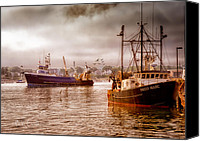 Maine Canvas Prints - Heading Out Canvas Print by Bob Orsillo