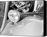 Gleam Canvas Prints - Headlights 5 Canvas Print by Skip Nall