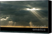 2012 Digital Art Canvas Prints - Heavens Gates Canvas Print by Donald Davis