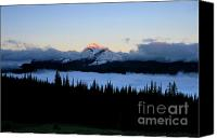 Dave Canvas Prints - Heavens Peak Canvas Print by Dave Hampton Photography