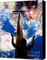 Heavens Canvas Prints - Heavens Prayers Canvas Print by David Lee Thompson