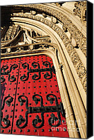 Dedication Canvas Prints - Heinz Chapel Doors Canvas Print by Thomas R Fletcher