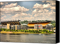 Steelers Canvas Prints - Heinz HDR Canvas Print by Arthur Herold Jr
