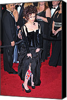 Academy Awards Oscars Canvas Prints - Helena Bonham Carter Wearing A Colleen Canvas Print by Everett