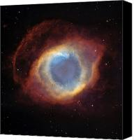 Helix Canvas Prints - Helix Nebula Canvas Print by Stocktrek Images