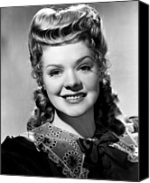 Publicity Shot Canvas Prints - Hello, Frisco, Hello, Alice Faye, 1943 Canvas Print by Everett