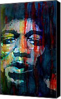 Hendrix Canvas Prints - Hendrix Canvas Print by Paul Lovering