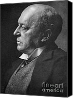 Photo-realism Photo Canvas Prints - Henry James, American-born British Canvas Print by Photo Researchers, Inc.