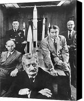 Major Canvas Prints - Hermann Oberth (1894-1989) Canvas Print by Granger