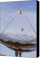 Etc. Canvas Prints - Hermansburg Solar Energy Receiver Canvas Print by Stephen Alvarez