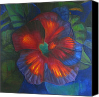 Susan Hanlon Canvas Prints - Hibiscus Canvas Print by Susan Hanlon