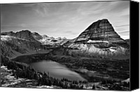 Montana Canvas Prints - Hidden Lake Canvas Print by Jesse Estes