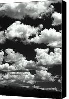 Continental Divide Canvas Prints - High Clouds Canvas Print by The Forests Edge Photography - Diane Sandoval