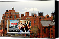 Movie Posters Canvas Prints - High Line Park 1 Canvas Print by Andrew Fare
