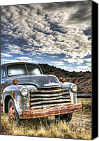 Truck Canvas Prints - High Miles Canvas Print by Eddie Yerkish