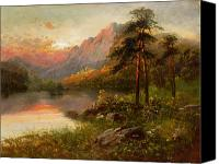 1861 Canvas Prints - Highland Solitude Canvas Print by Frank Hider