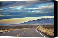 Outdoors Canvas Prints - Highway 130 To Minersville Canvas Print by Utah-based Photographer Ryan Houston