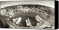 Boats Canvas Prints - Hilton Head Harbor Town Yacht Basin 2012 Canvas Print by Dustin K Ryan