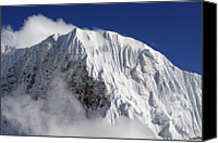 Nepal Canvas Prints - Himalayan Mountain Landscape Canvas Print by Pal Teravagimov Photography