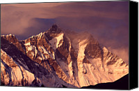 Nepal Canvas Prints - Himalayas At Sunset Canvas Print by Pal Teravagimov Photography