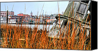 Ship Wreck Canvas Prints - Historic Wilmington Canvas Print by JC Findley