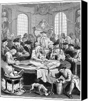 Medical School Canvas Prints - Hogarth: Cruelty, 1750 Canvas Print by Granger