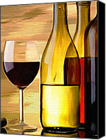Bottles Canvas Prints - Homemade Canvas Print by James Shepherd